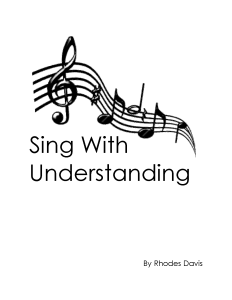 Sing With Understanding Cover