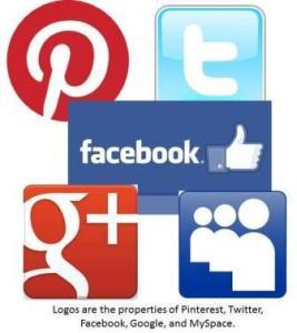 socmedia logos