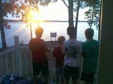 Ralphs Boys at Sunrise