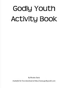 GY Activity Book Cover